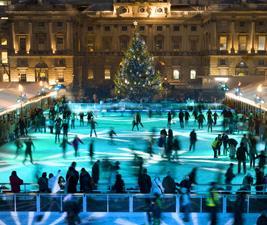 Las mejores pistas de hielo al aire libre para niños