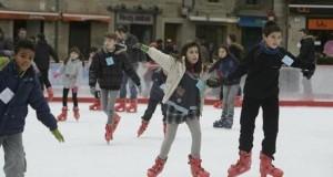 Mejores pistas de hielo al aire libre para niños