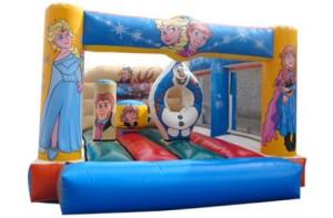 Castillo hinchable para cumpleaños con niños